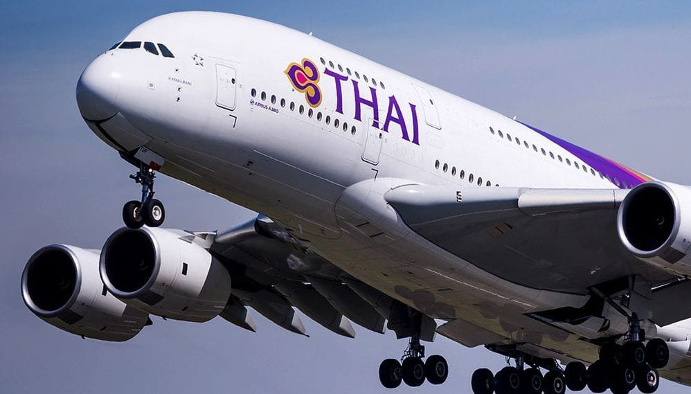 """Thai Airways is the flag carrier airline of Thailand, formed in 1988. Thai Airways is a founding member of the Star Alliance. Including its subsidiaries, Thai Airways flies to 84 destinations in 37 countries, using a fleet of over 90 aircraft. The company slogan """"Smooth as Silk"""" is a key brand denominator."""