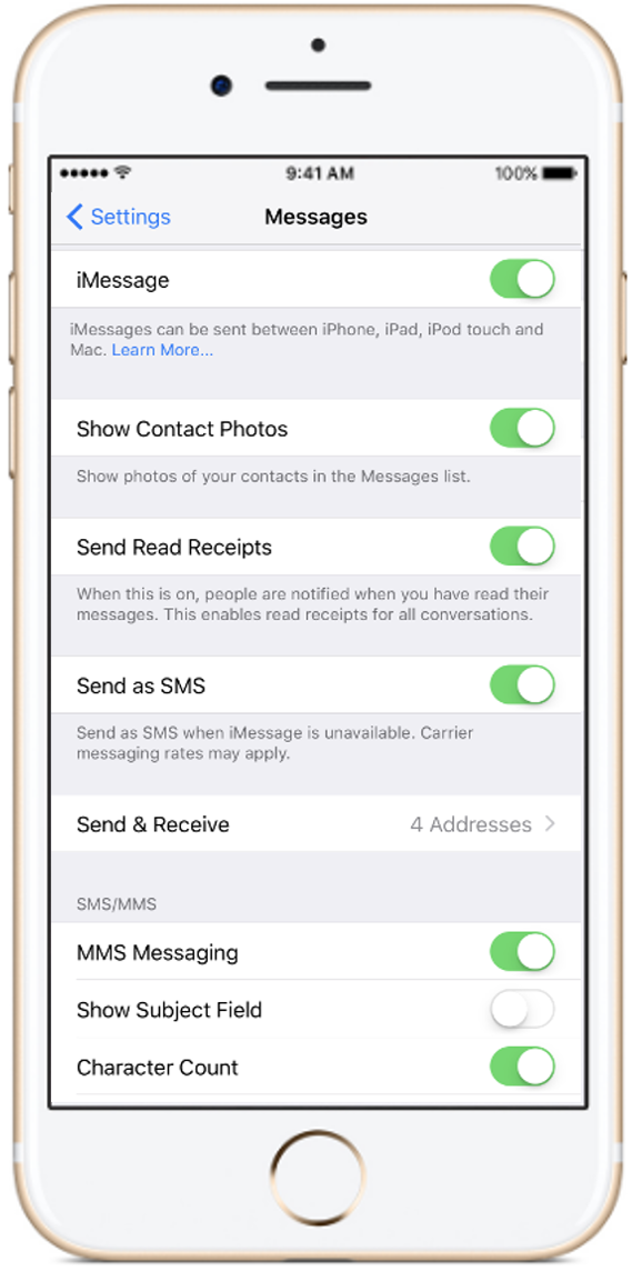 unifi Community - Apple iPhone: activating iMessage & FaceTime